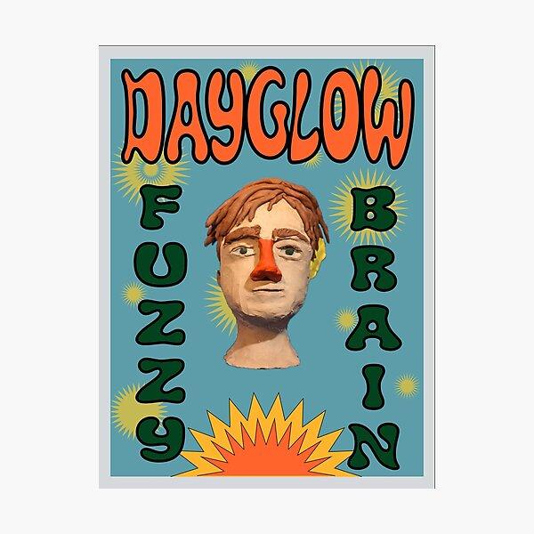 Fuzzy Brain Album poster Photographic Print