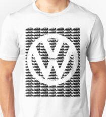 VW Golf White Logo with Black Golf Mk1-Mk7 T-Shirt