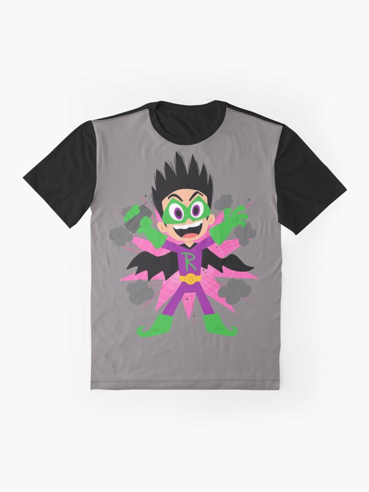 Alternate view of Evil Ray Blank Drew Pendous Cool School Graphic T-Shirt