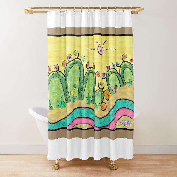 Blooming Ladies Shower Curtain
