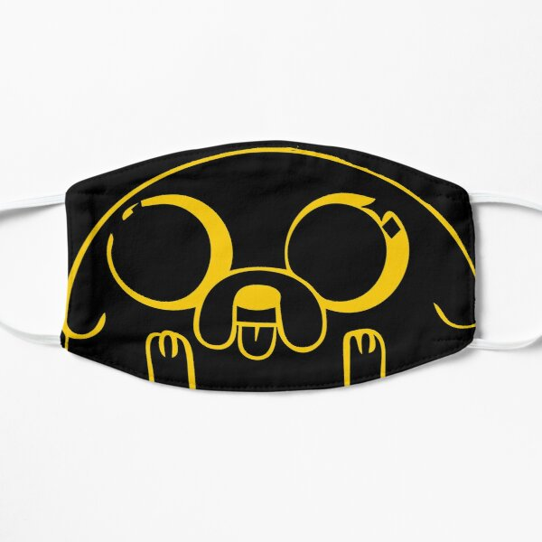 Jake the dog from Adventure Time Flat Mask