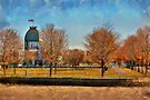 Bonsecours Basin - painted by PhotosByHealy