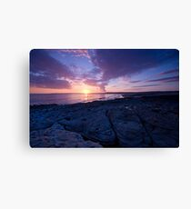 Ogmore by the sea Canvas Print