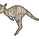 red wood kangaroo by Vin  Zzep