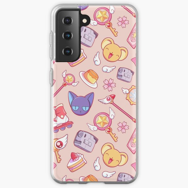 Sakura Card Captor - Peach Samsung Galaxy Soft Case