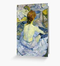 Toulouse Lautrec - The Bath Greeting Card