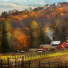Country - Barn - The end of a season by Michael Savad