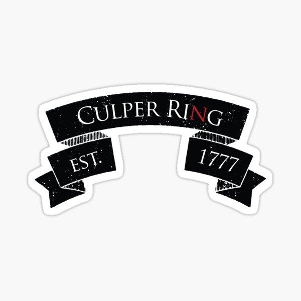 Culper Ring Sticker