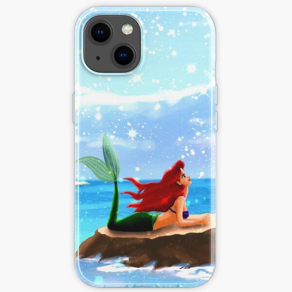 Little Mermaid - Azure Blue iPhone Soft Case