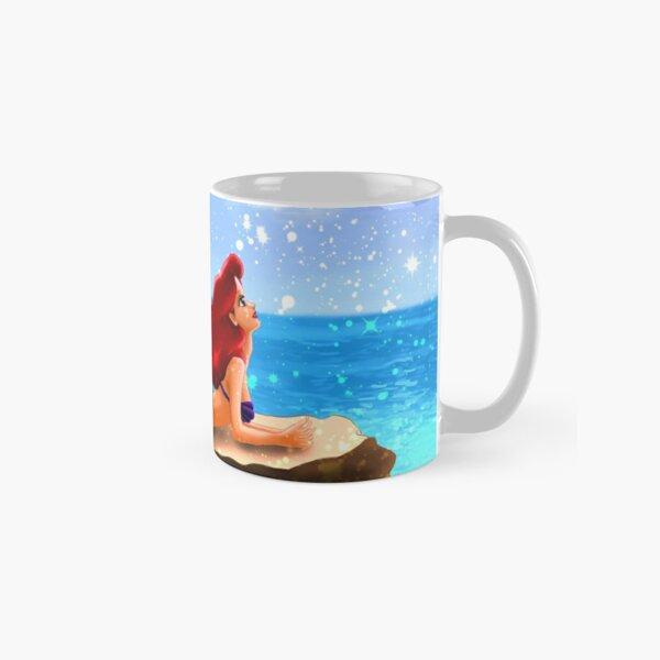 Little Mermaid - Azure Blue Classic Mug