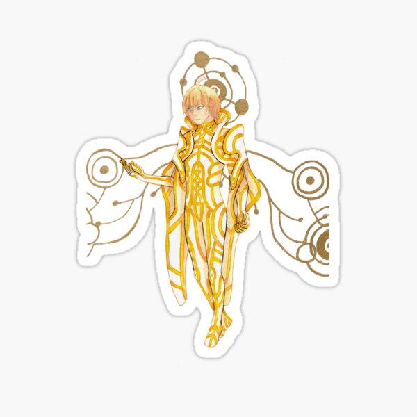 Xenoblade Chronicles - Zanza the Divine Sticker