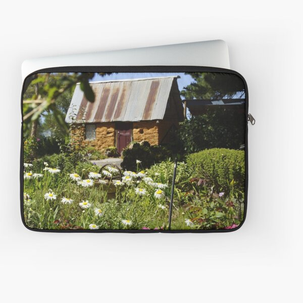 The Little House in the Country by South Australian artist Avril Thomas Laptop Sleeve