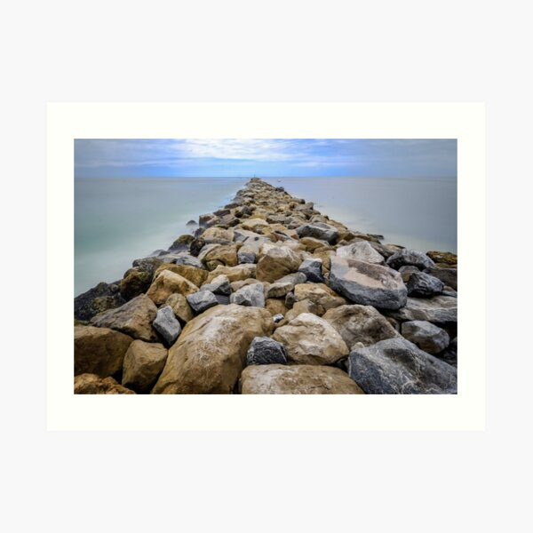 Jetty - Ponce Inlet, Florida  Art Print