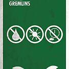 «Cartel de la película mínima de Gremlins» de quimmirabet