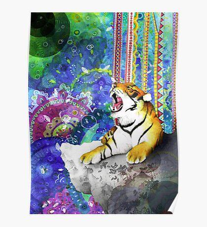Tiger's Dream Poster