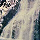 Norwegian Waterfall by ValSteve59