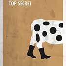 «Top Secret Minimal Film Poster» de quimmirabet
