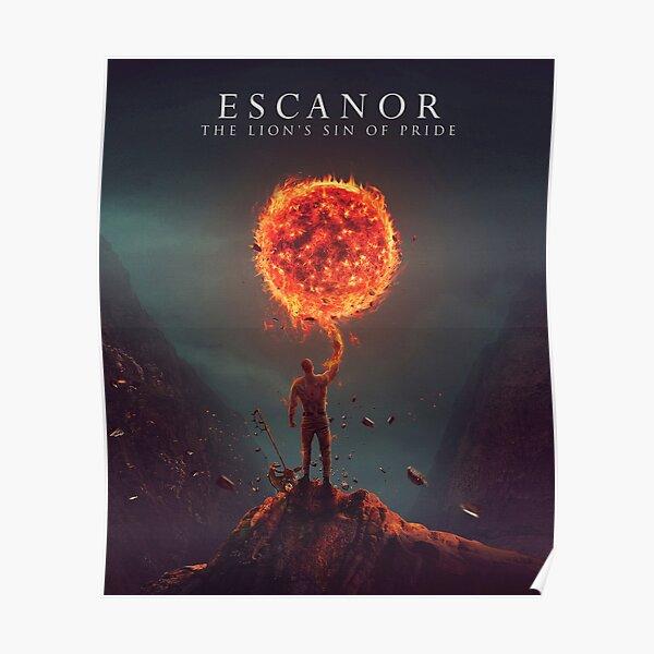 Escanor - Nanatsu No Taizai (Le péché d'orgueil du lion) Poster