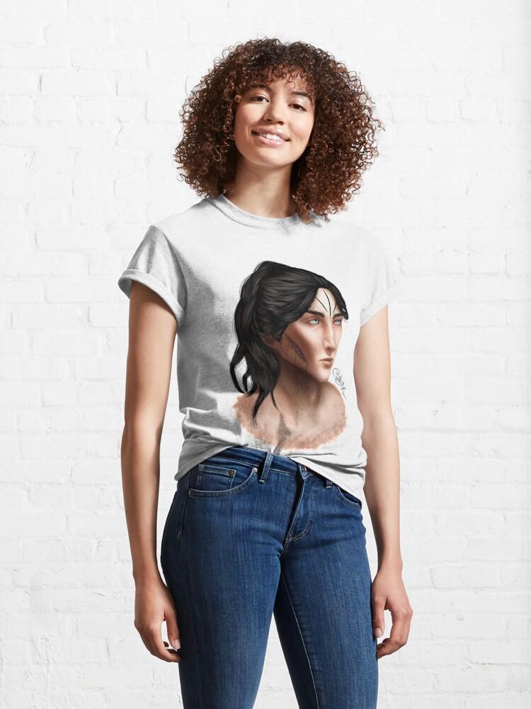 Alternate view of Portrait - Malachiasz Czechowicz Classic T-Shirt