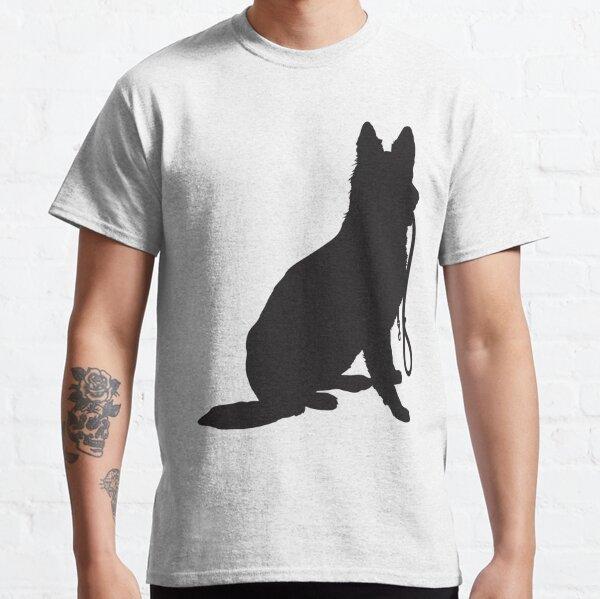 Shepherd with Leash Classic T-Shirt