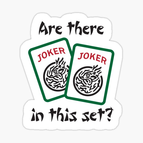 Mahjong - Are there Jokers in this set? Sticker