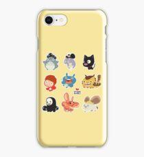 Studio Ghibli Friends iPhone Case/Skin