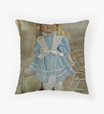 Here I am, waiting for you! Throw Pillow