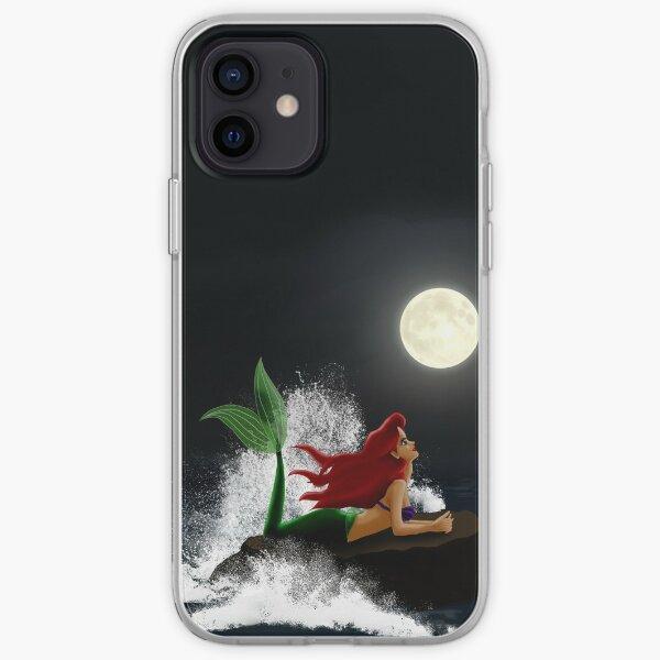 Die kleine Meerjungfrau - Sternennacht iPhone Flexible Hülle
