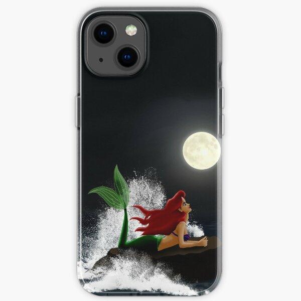 Little Mermaid - Starry Night iPhone Soft Case