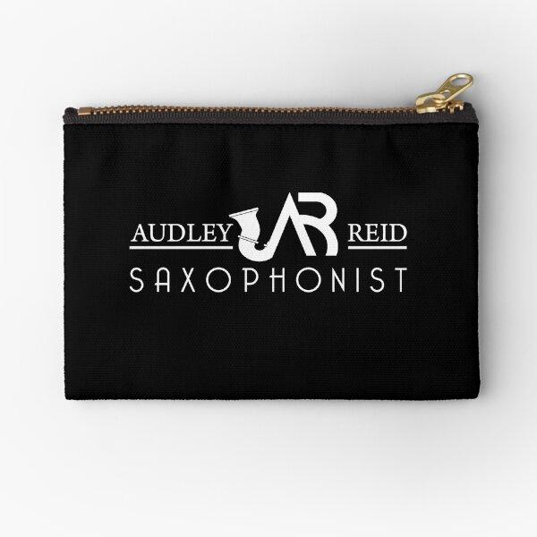 Audley Reid Saxophonist: Black Series Zipper Pouch