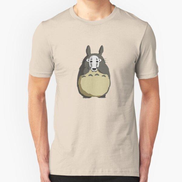 Totoro Mask Slim Fit T-Shirt