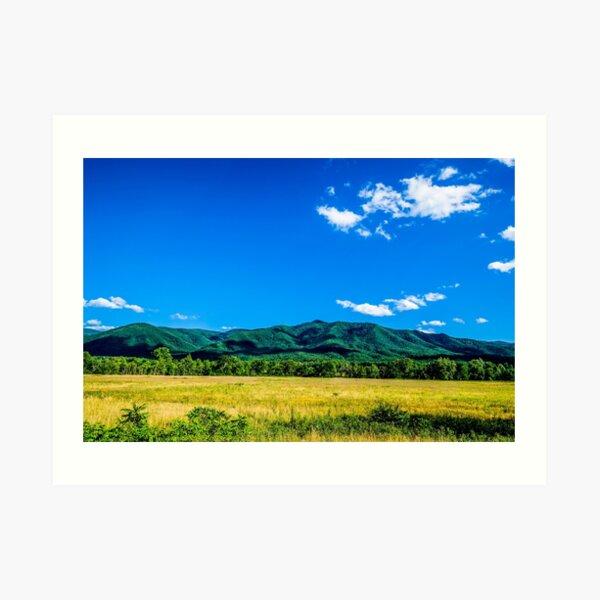 Cade's Cove - Great Smoky Mountains National Park Art Print