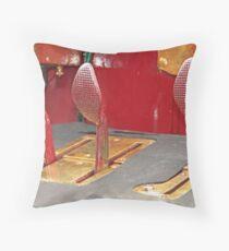 Pedals Throw Pillow