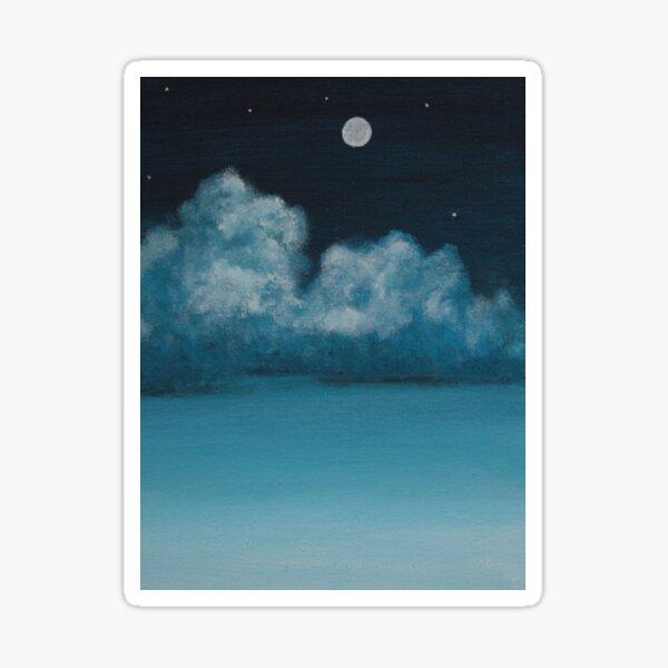 Night sky  Sticker