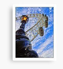 London Eye by Tim Constable Canvas Print