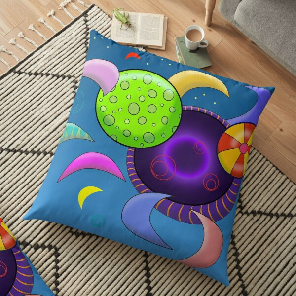 A Hole in the Universe Floor Pillow