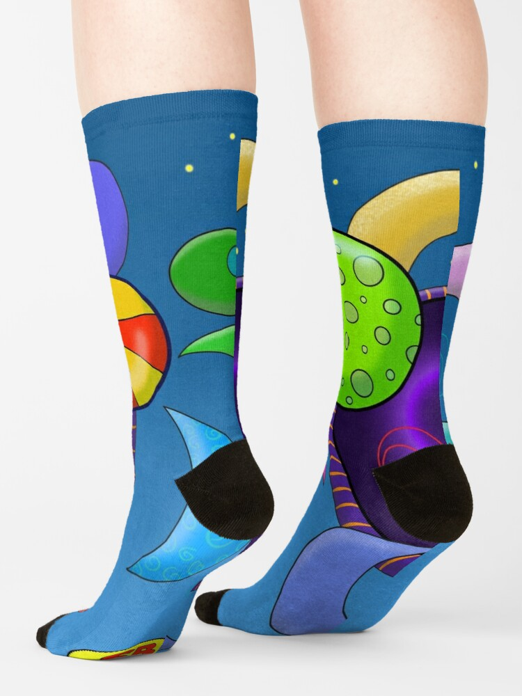 Alternate view of A Hole in the Universe Socks