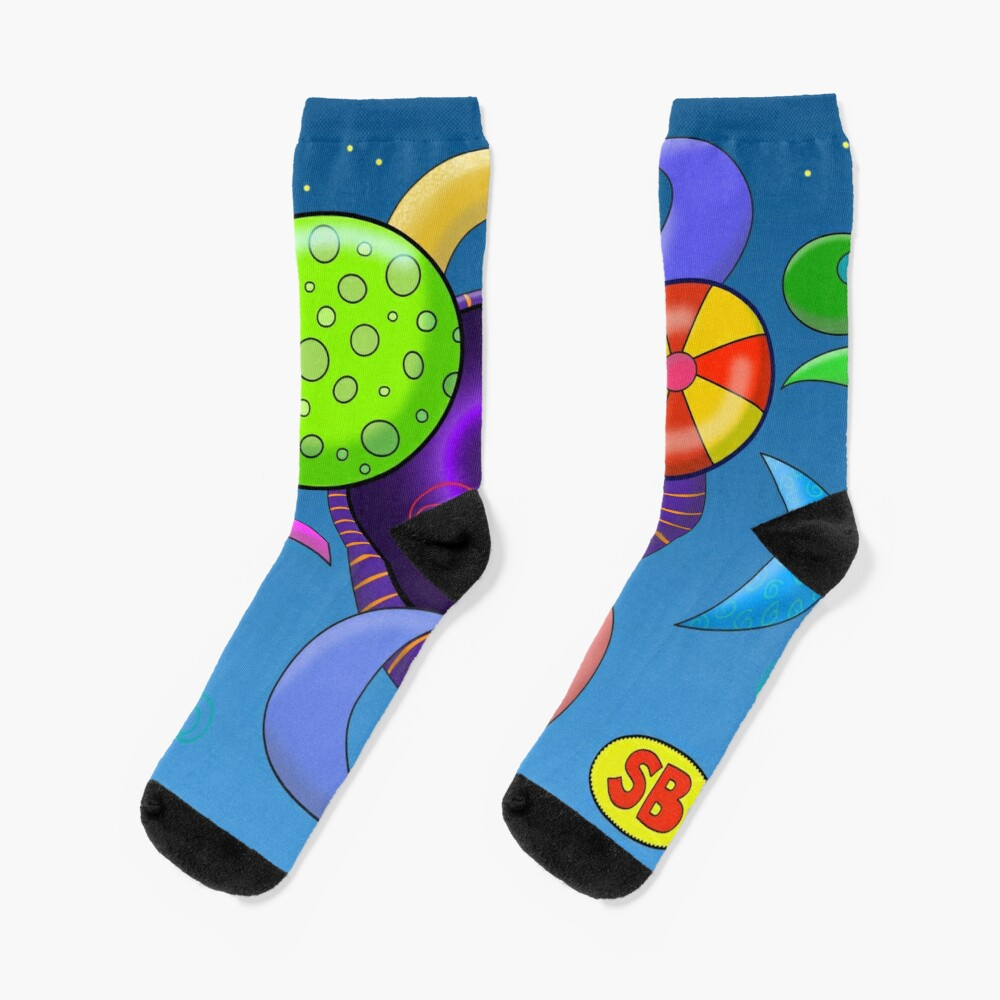 A Hole in the Universe Socks