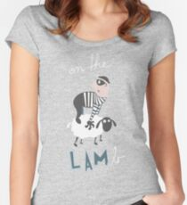 On the LAMb Women's Fitted Scoop T-Shirt