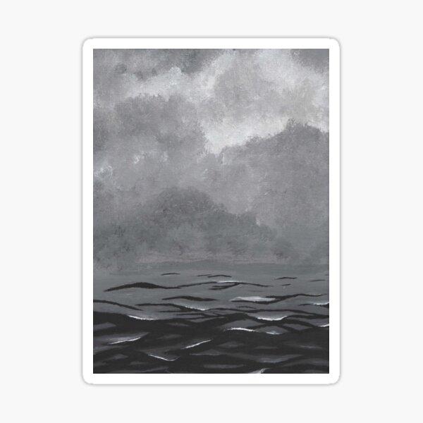 Black & white water Sticker
