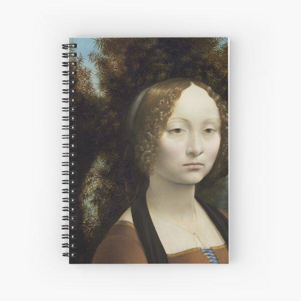 Portrait de Ginevra de' Benci Spiral Notebook