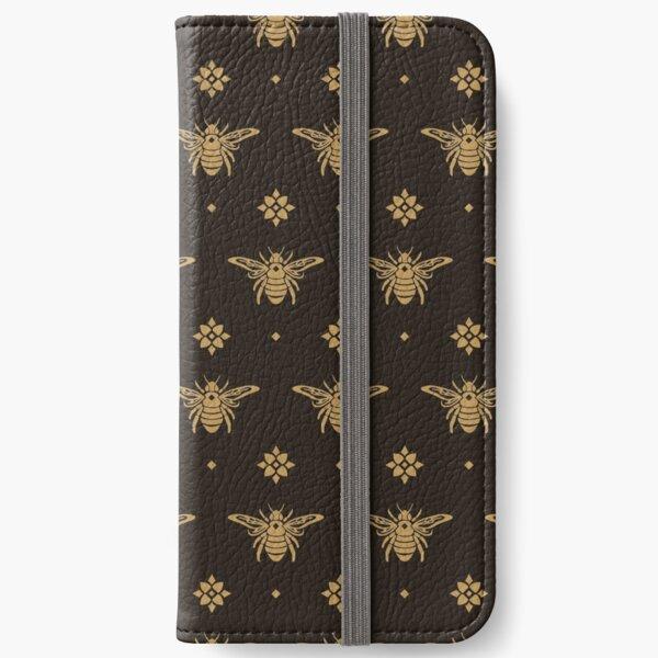 Mystical Bee - Aztec Gold iPhone Wallet