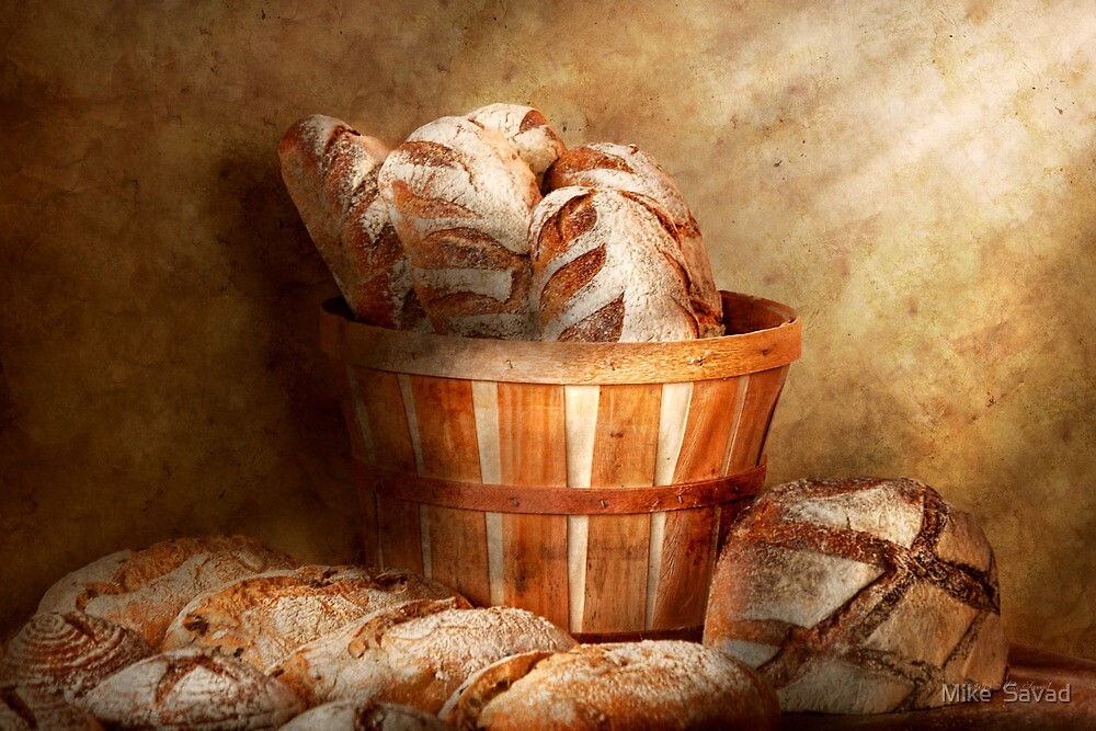 Food - Bread - Your daily bread by Michael Savad