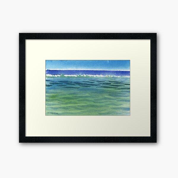 Breakers Framed Art Print