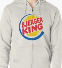 Bjerger King Zipped Hoodie