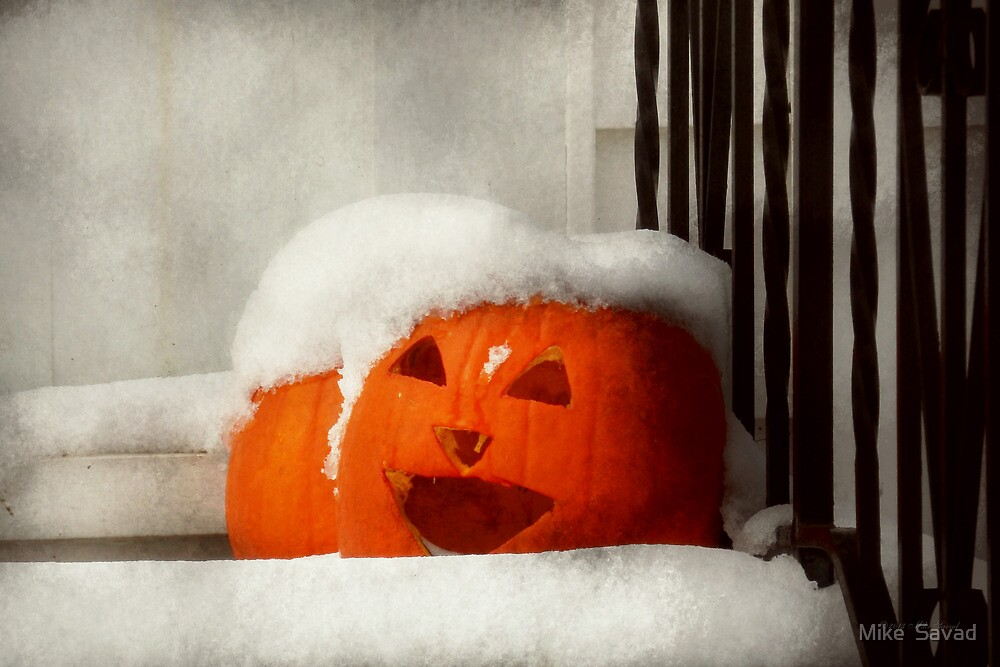 Halloween - Winter - I'm cold by Michael Savad