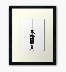 Geronimo! Framed Print