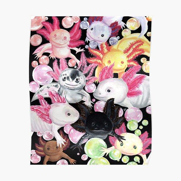 The Axolotls Poster