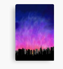 Lienzo New York City Skyline Sunset