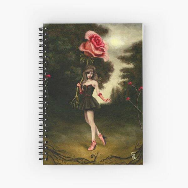 The Blossom Girl Spiral Notebook